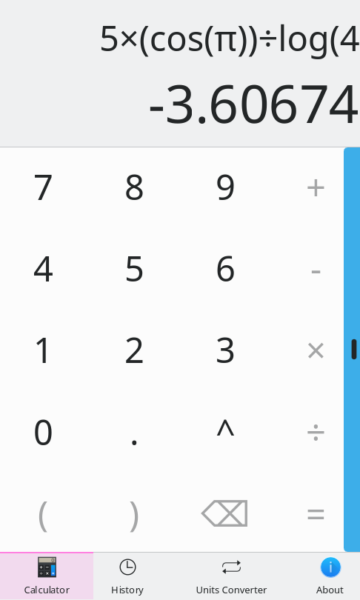 Kalk, calculator