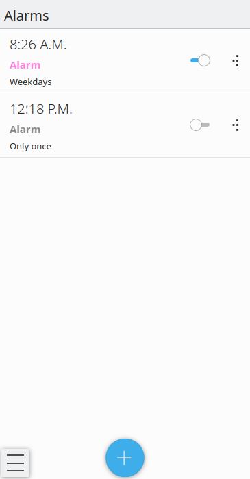 KClock, the new clock application