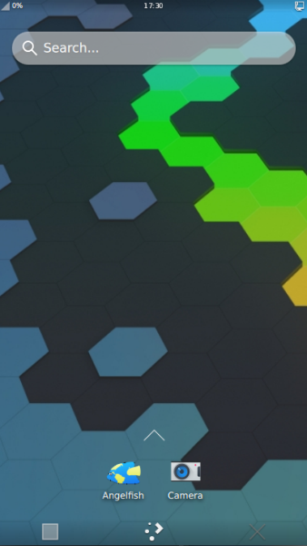 KDE Connect menu